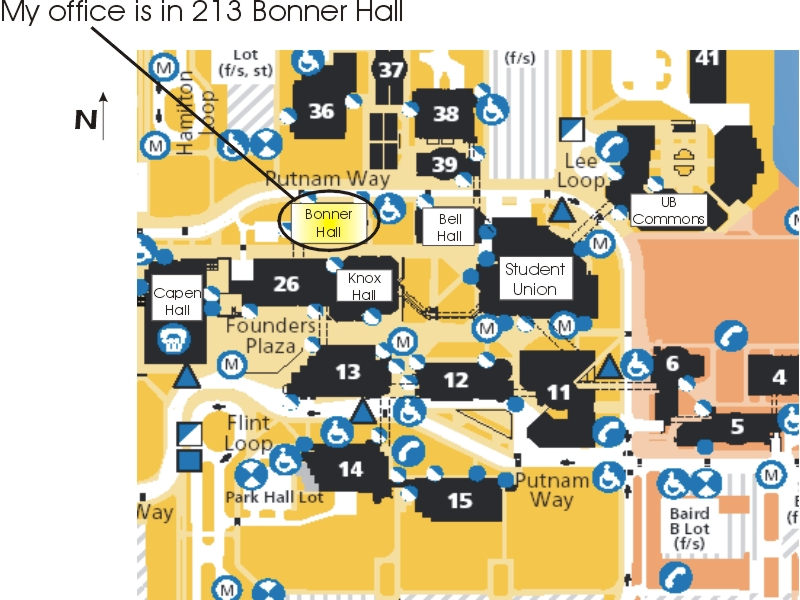 UB Map - Ub north campus map