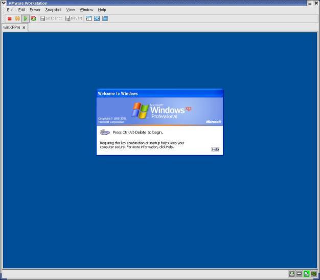 Accessing Microsoft Windows Via VMware